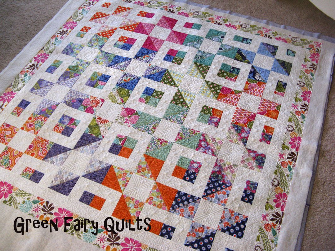 green fairy quilts stepping stones on some cute terrain