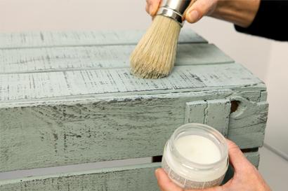 Tersi diy t cnicas para pintar con chalk paint - Barniz para chalk paint ...