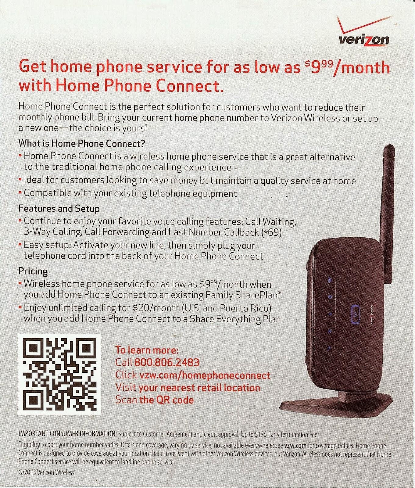 home phone options