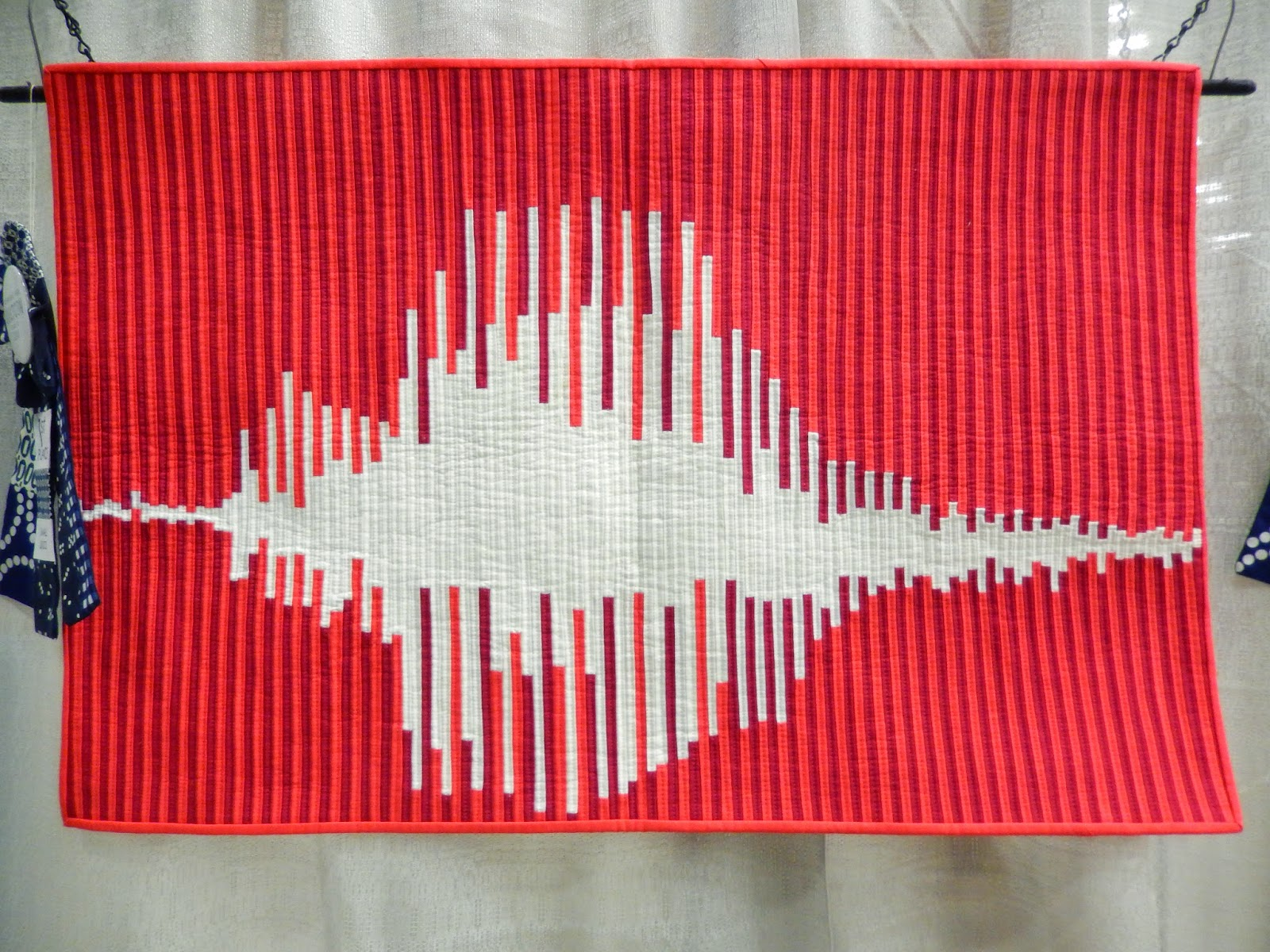 What's the Frequency, Love? by Sheri Cifaldi-Morrill @ Quilting Mod