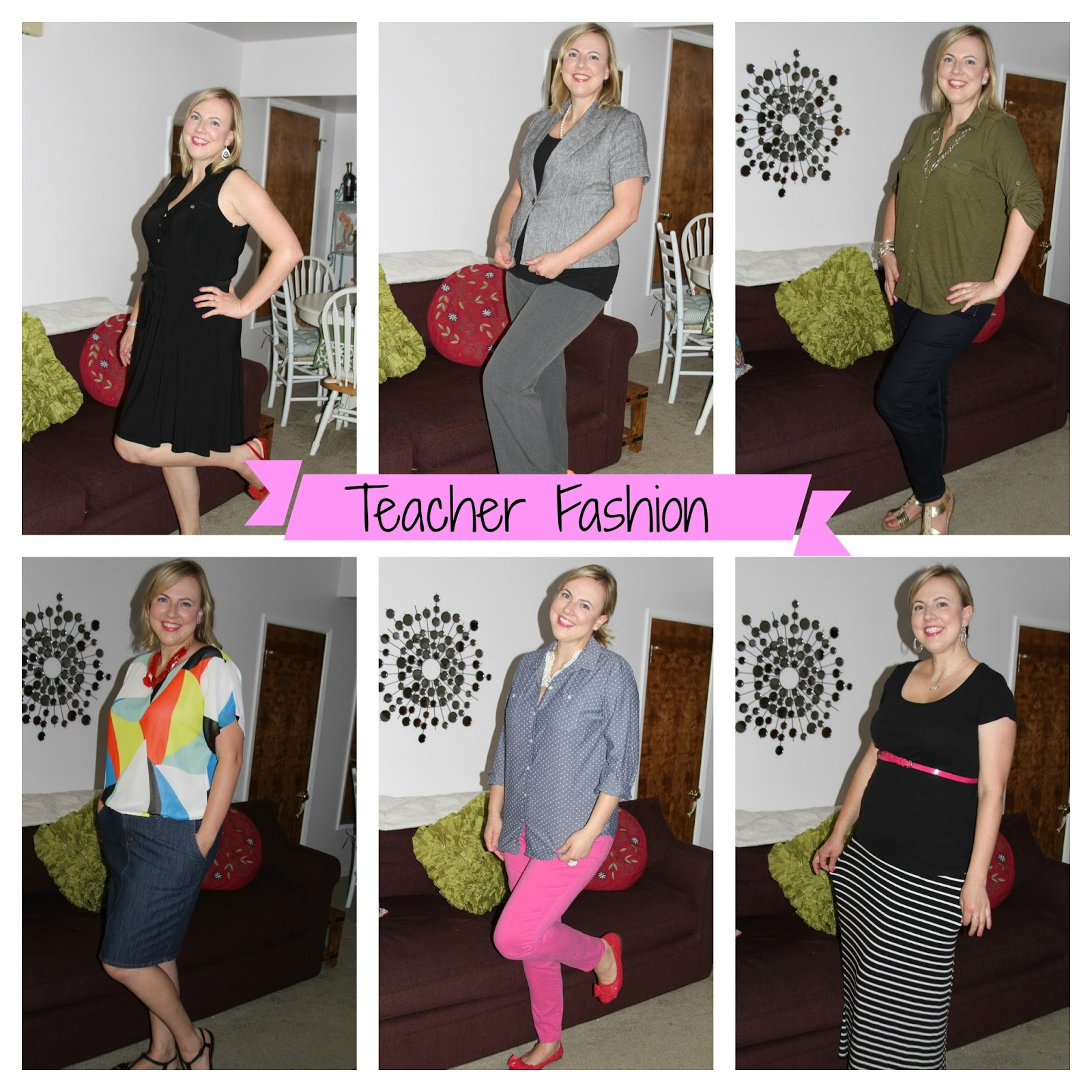 Back To School Teacher Fashion
