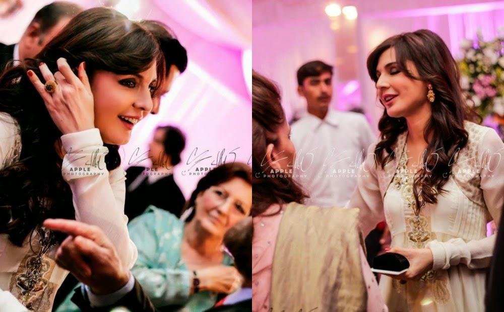 Laila Hameed Mahnoor Balochs Daughter Reception