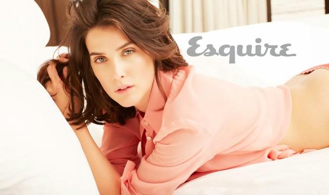 La sexy Cobie Smulders en el Squire de Marzo de 2014
