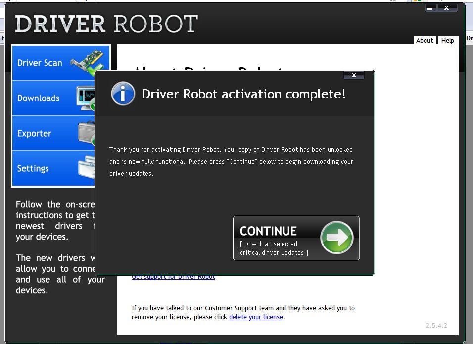 Driver robot скачать с ключом