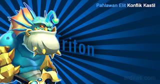 Triton - Pahlawan Elit - Konflik Kastil