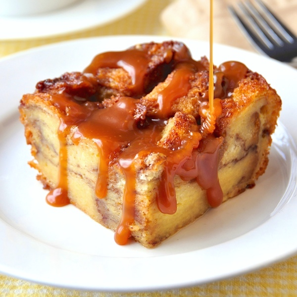 cinnamon roll bread pudding remember that cinnamon roll crown loaf ...