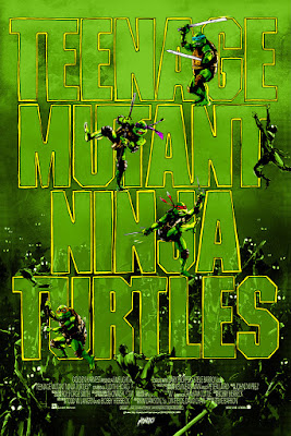 San Diego Comic-Con 2015 Exclusive Teenage Mutant Ninja Turtles Screen Print by Jock x Mondo