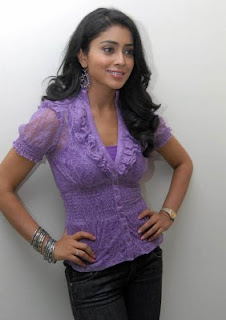 shreya in beautiful dress