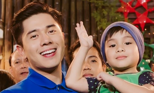 Paulo Avelino with son in Honesto, Raikko Mateo