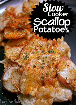 These Crockpot Scalloped Potatoes are a MUST try!