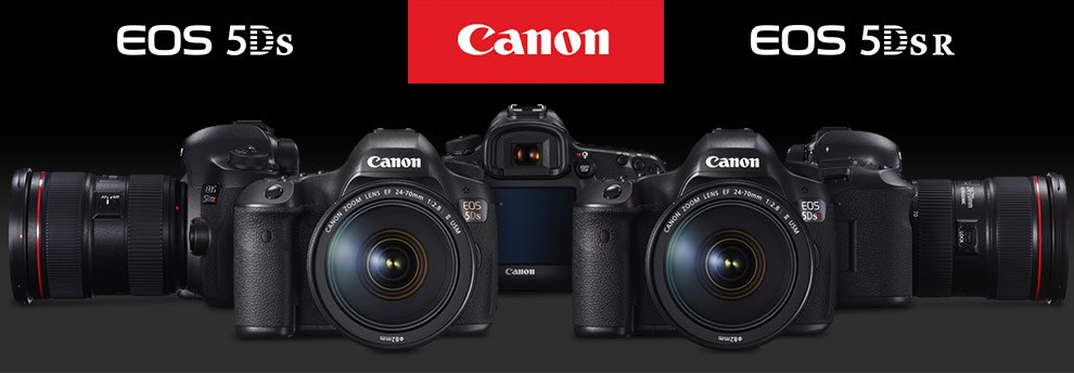 Canon EOS 5DS and Canon EOS 5DS R ultra high resolution full frame ...
