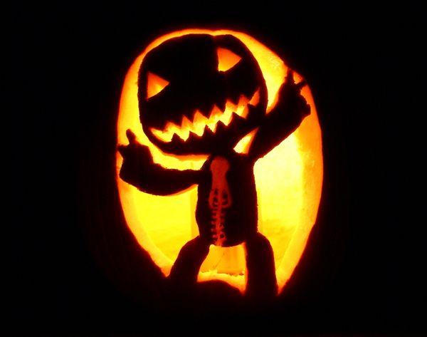 Las mejores y mas especiales calabazas de halloween - Calabazas de halloween de miedo ...