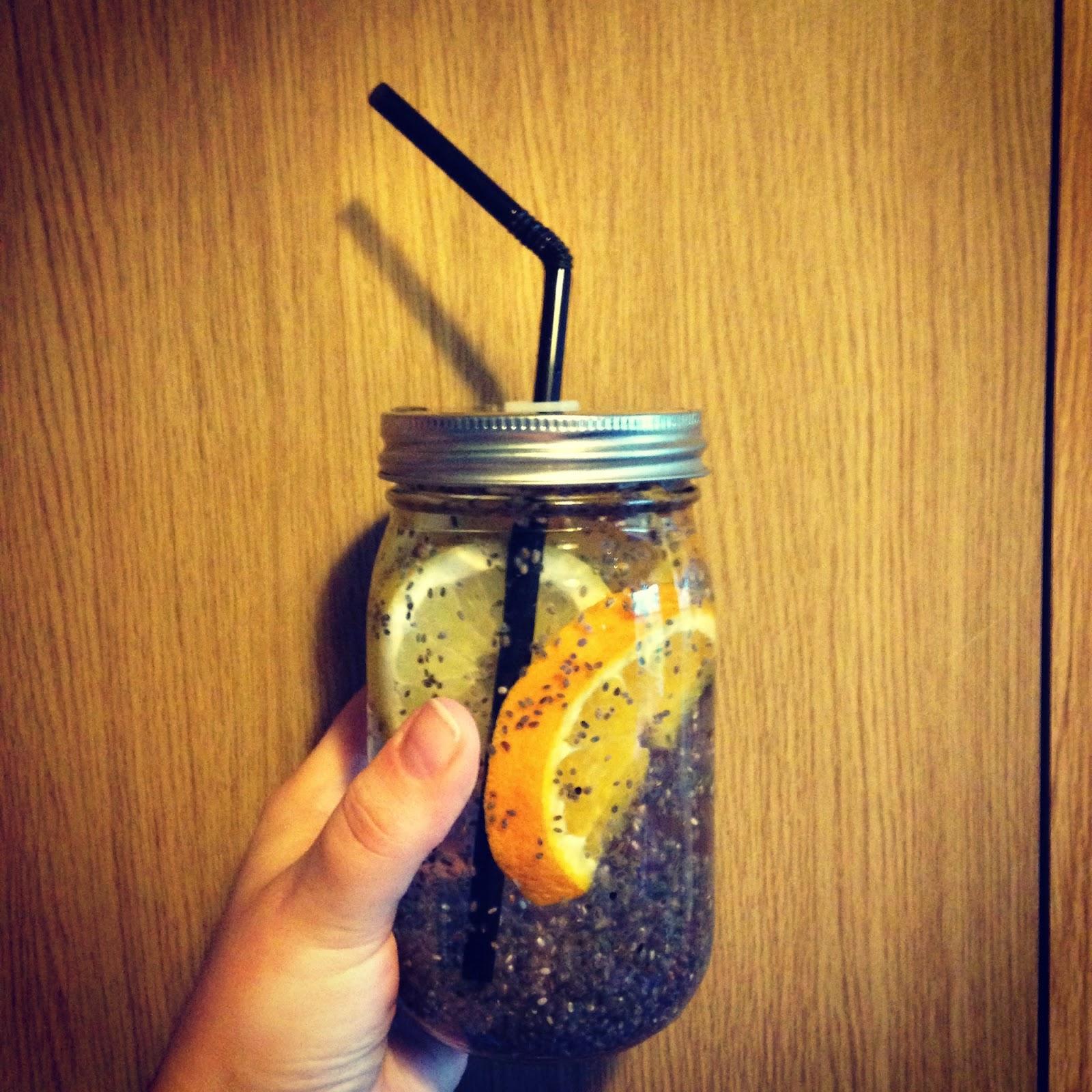 Lemon and Orange chia fresca
