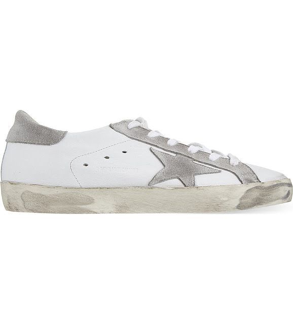 golden goose superstar trainers, golden goose white trainers,