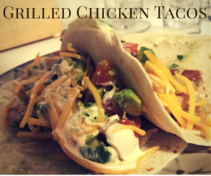 Grilled Chicken Tacos