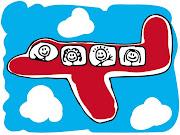 . cancion muy entretenida para aprender en casa tambien del avión. (airliner airplane cartoon)