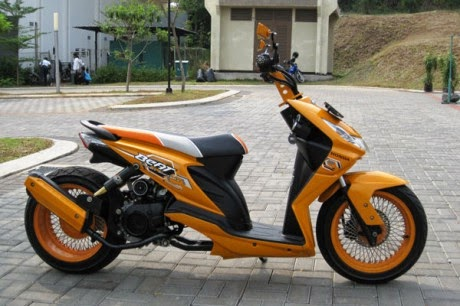 motor modifikasi beat fi