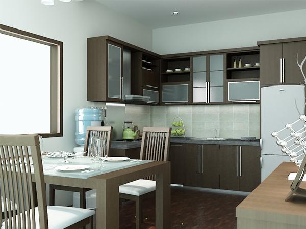 Desain Interior Untuk Apartemen Tipe Studio