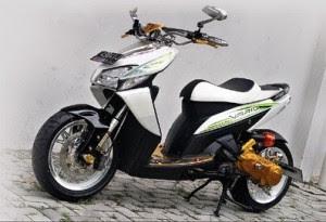 Honda Vario Modifikasi Dengan Velg Honda Jazz-gambar foto modifikasi motor terbaru 1.jpg
