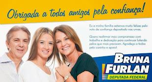 """""""DEPUTADA FEDERAL BRUNA FURLAN DE SÃO PAULO"""