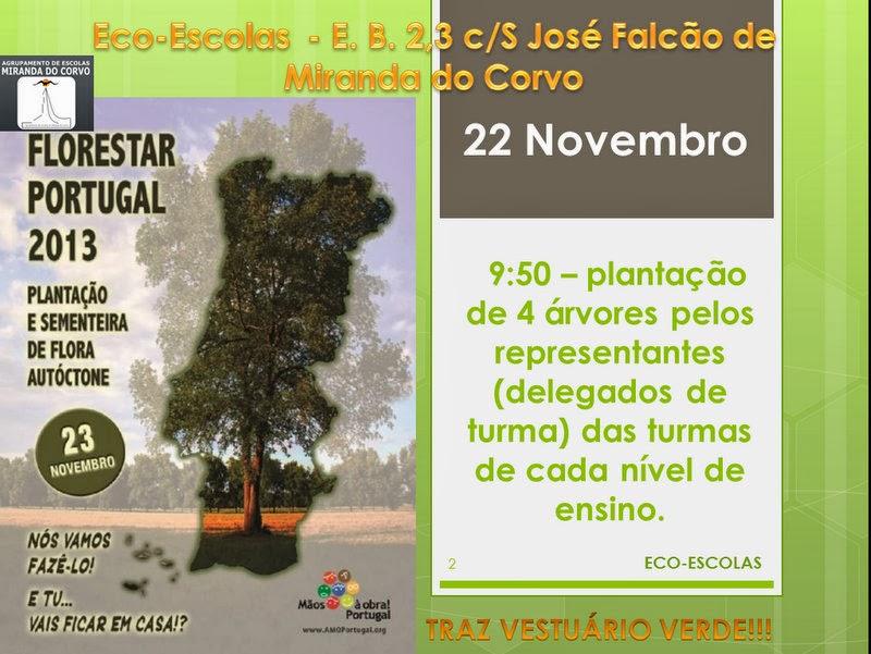Sensibilização para Florestar Portugal!