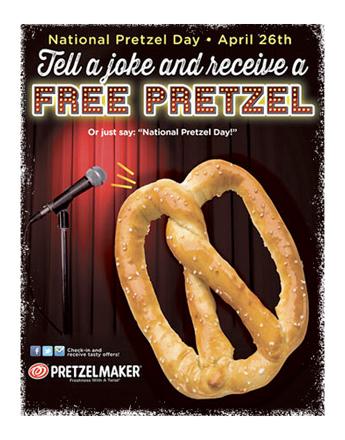 fresno free pretzels wednesday national pretzel