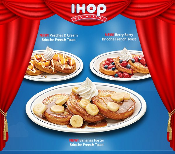 News: IHOP - New Brioche French Toast | Brand Eating