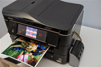 Принтер Epson WorkForce 845/840