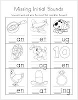 math worksheet : mrs ricca s kindergarten literacy worksheets freebies : Beginning Sounds Kindergarten Worksheets