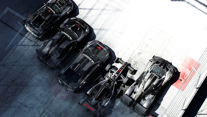 Grid Autosport Cars Black