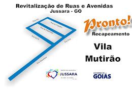 VILA MUTIRÃO - ASFALTO NOVO!