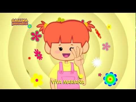 Ver dibujos animados gratis mariana espa ol dvd y for Aeiou el jardin de clarilu