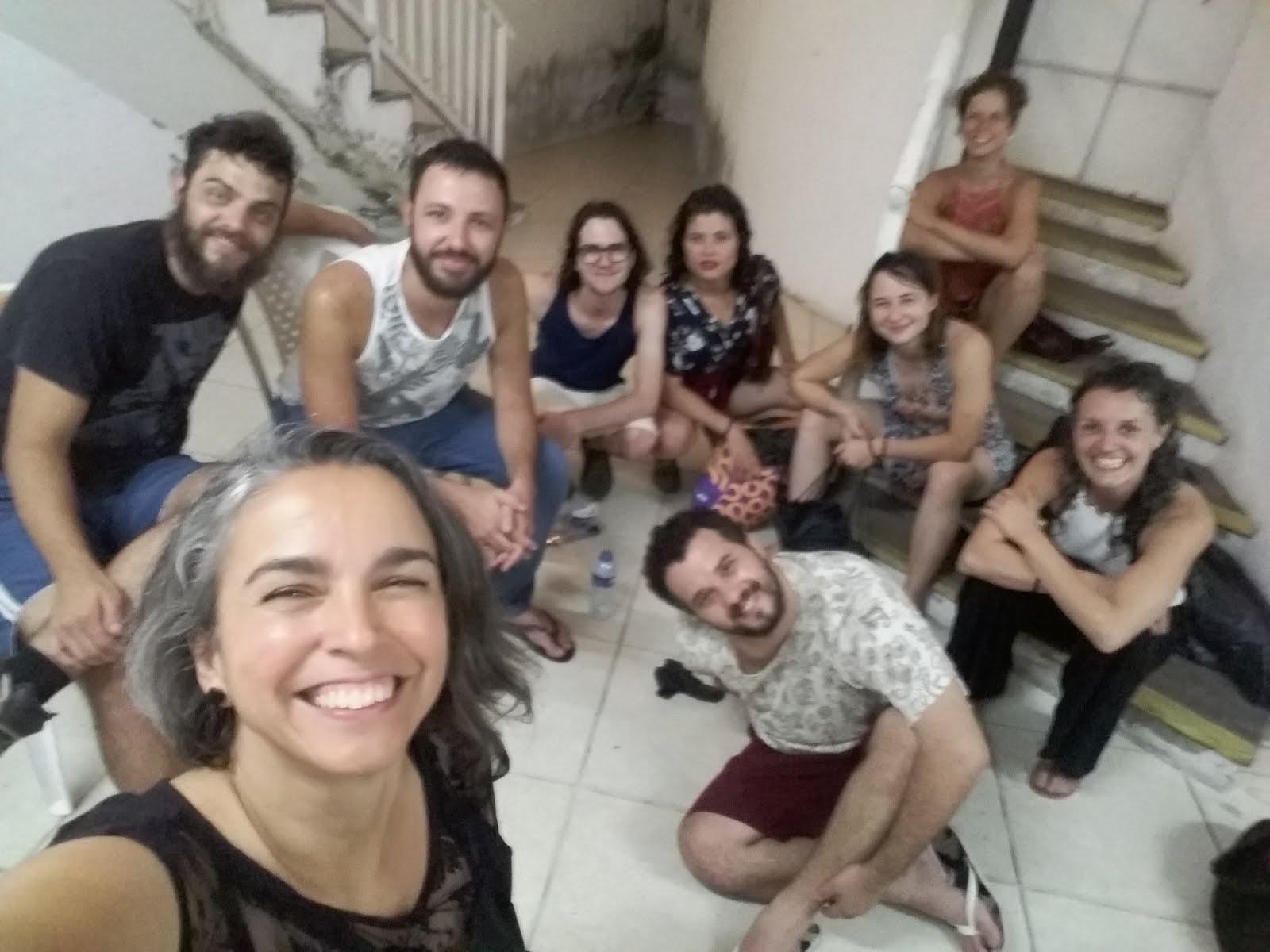 No camarim da Bienal de Dança do Ceará em Fortaleza - Outubro 2018