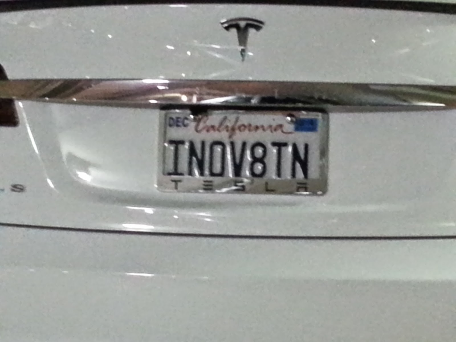and especially perfect when found on a tesla