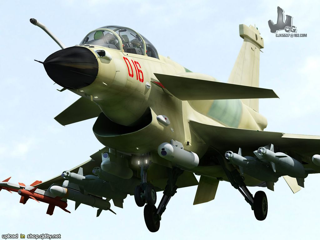 HI-TECH Automotive: J-10B fighter jet