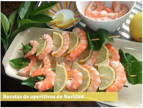 Novedades y noticias navidad for Canapes recetas faciles y economicas
