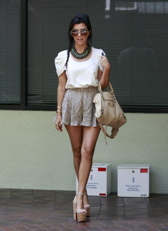 Kourtney Kardashian's Street Style