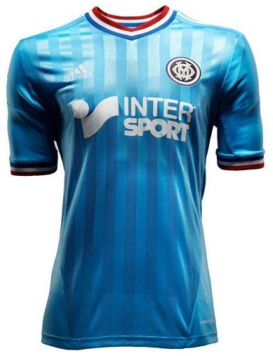 Le nouveau maillot OM extérieur 2012 / 2013