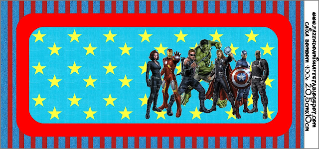 Avengers Free Printable Candy Bar Labels. | Oh My Fiesta