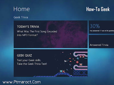 GeekTrivia App Windows8
