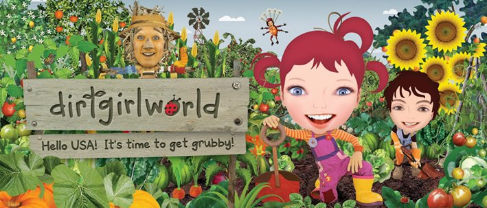 Real creepy kids tv 8 dirt girl world the real matt daddy Gardening tv shows online