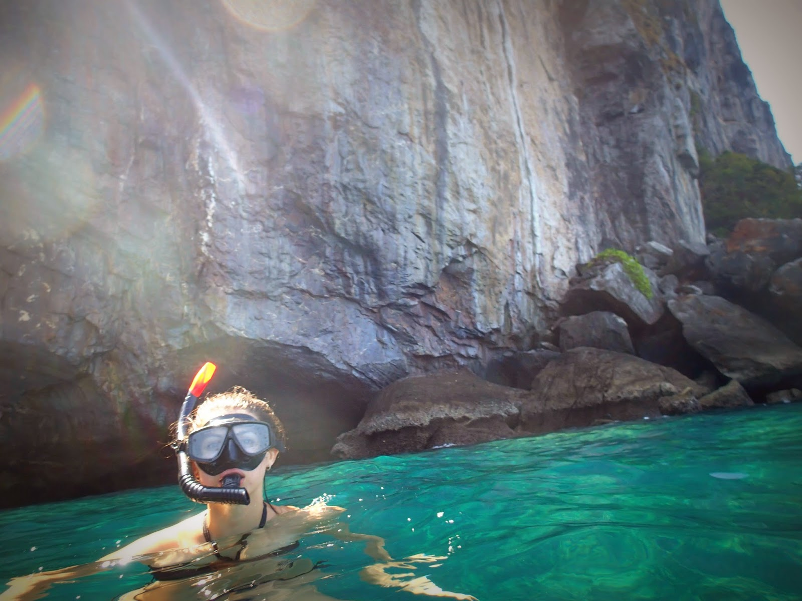 Snorkeling at Phi Phi Islands Thailand