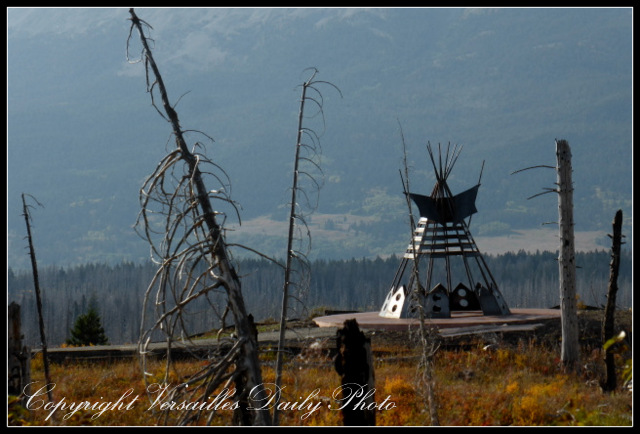 Teepee Blackfeet Indian Reservation