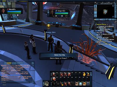 Star Trek Online - Starship Selection Officer