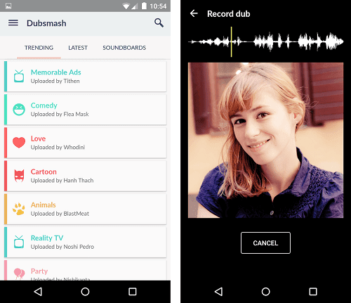Download Dubsmash APK full Paid