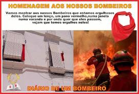 #UmLençoVermelhoPorCadaBombeiro