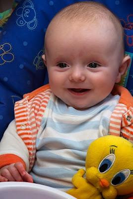 lovely boy kid smiling playing photo