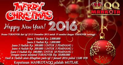 Promo Natal Dan Tahun Baru 2016