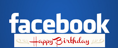 Happy birthday Facebook!