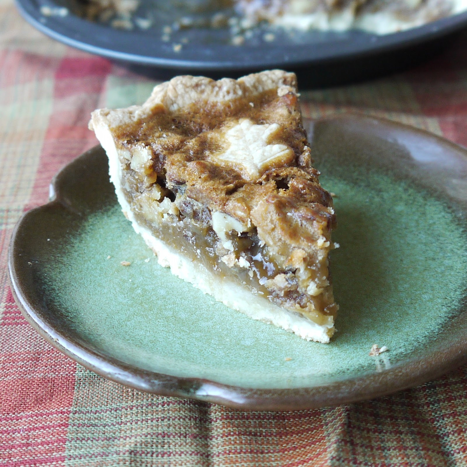 ... the Secret Ingredient: Honey-Walnut Pie and Homemade Butter Crust